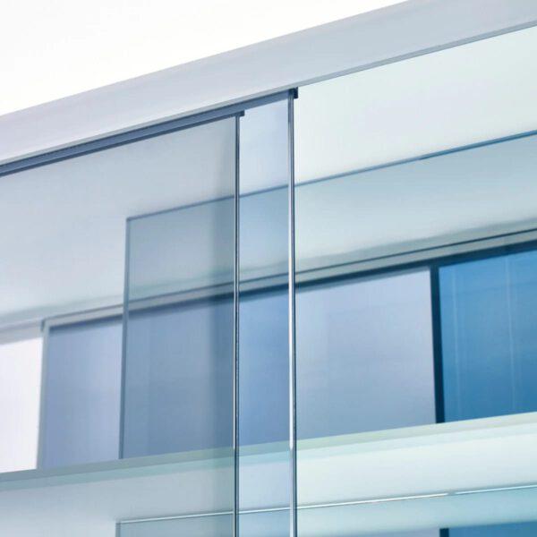 Luxe-Design-Italiaanse-Boekenkast-Layers-GlasItalia-Transparant-Gekleurde