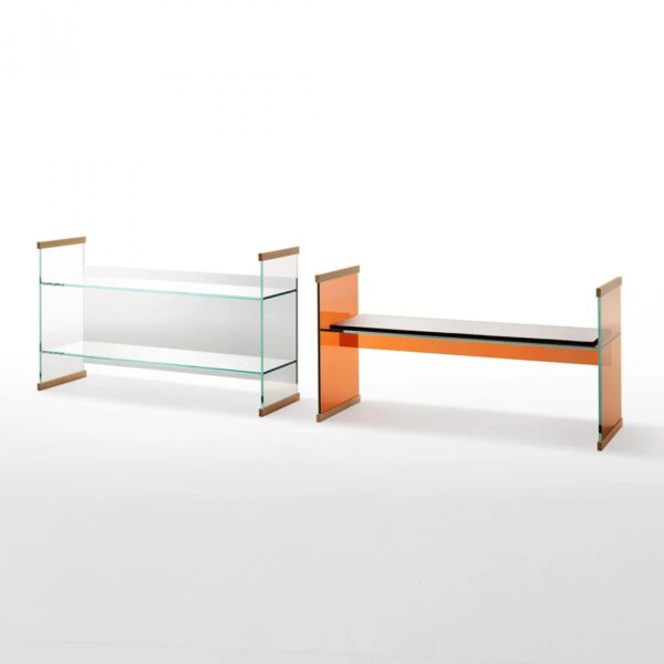 Luxe-Glazen-Italiaanse-Design-Bank-Glazen-Boekenkast-Bureau-GlasItalia