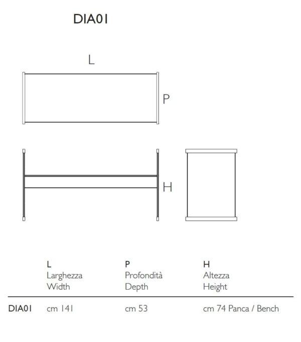 Luxe-Glazen-Italiaanse-Design-Bank-Glazen-Boekenkast-Bureau-GlasItalia-tekening