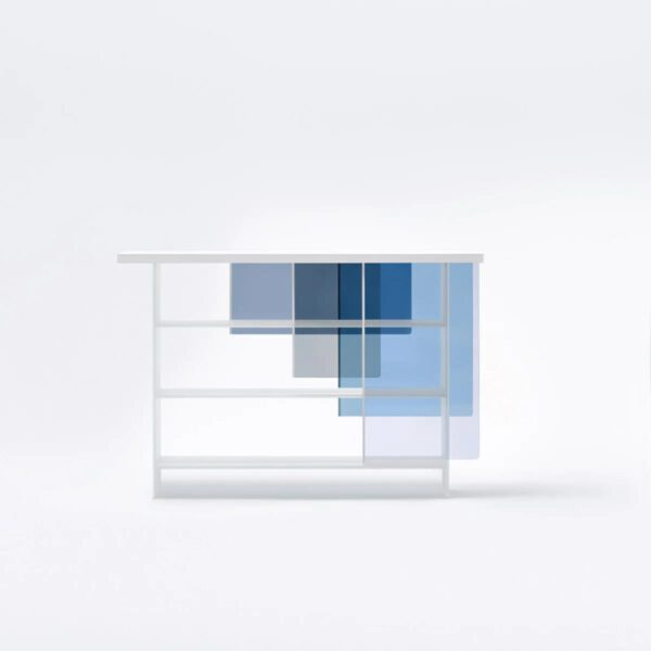 Luxe-Italiaanse-Maatwerk-Glazen-Gekleurde-Design-Layers-Boekenkast-GlasItalia