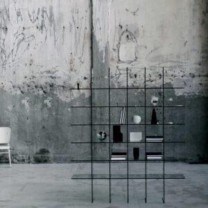 Glasitalia design boekenkast Glass Shelves #1 (1976)