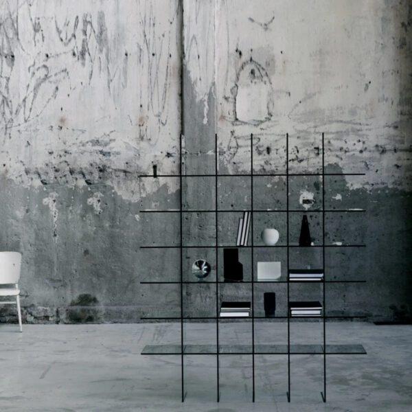 Luxe-Italiaanse-Moderne-Design-Transparante-Glazen-Wandmeubek-Boekenkast-GlasItalia
