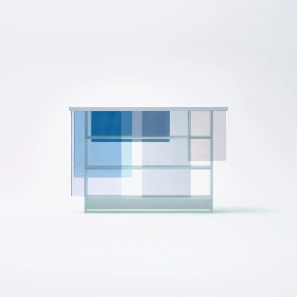 Luxe-Layers-Gekleurde-Design-Italiaanse-Glazen-Boekenkast-GlasItalia