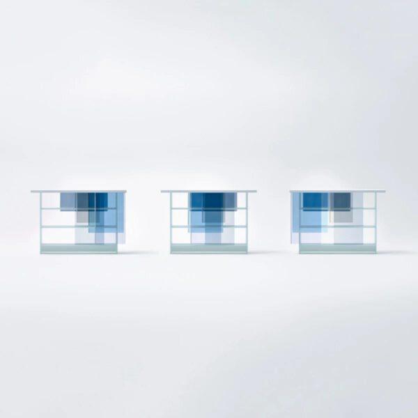 Luxe-Moderne-Exclusieve-Italiaanse-Transparante-Gekleurde-Glazen-Boekenkast-GlasItalia