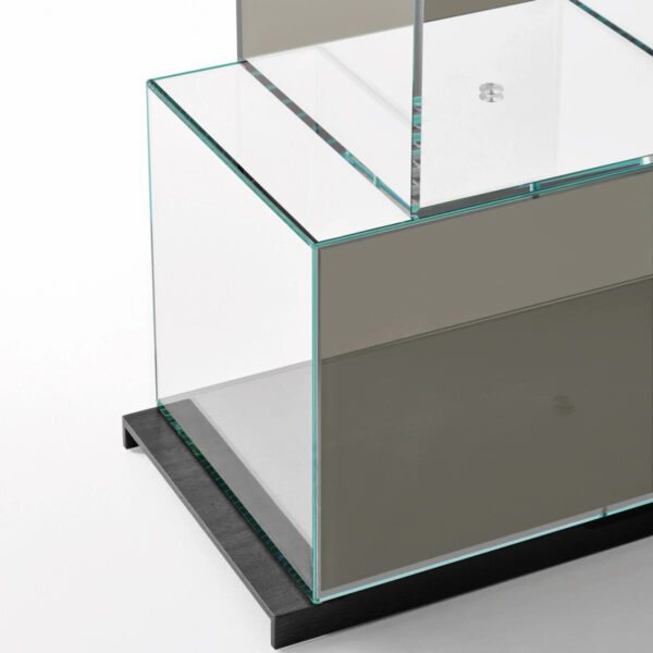 Moderne-Luxe-Design-Italiaanse-Boekenkast-Glazen-GlasItalia