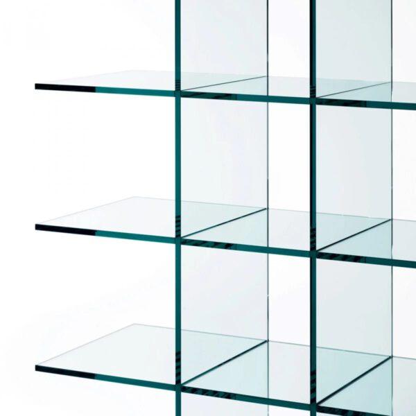 Transparante-Glazen-Luxe-Design-Moderne-Italiaanse-Boekenkast-GlassShelves-Glasitalia