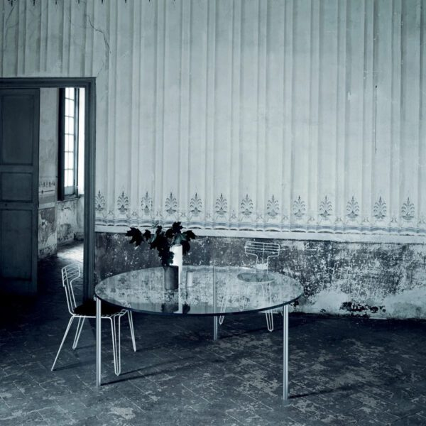 Ronde-transparante-tafel-bureau-glazen-luxe-design-moderne-maatwerk-italiaanse-glasitalua